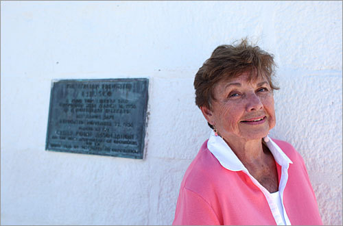 Ruth Downton has been the lighthouse keeper for the past 22 years, but she is set to retire this fall. 'It's been a joy to live here,' she said. 'But I'm getting older, and it's time to move on. I'm 77; it's time to retire and let someone younger take over.'
