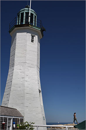 The Old Scituate Lighthouse needs someone new to keep the historic beacon shining. But finding the right person may not be as easy as it looks. 'A lot of people have a romantic notion of living in a lighthouse,' said historical society president David Ball. 'There are responsibilities that go with it. There's a lot more to it than people think. It takes a special person, no doubt about it.'