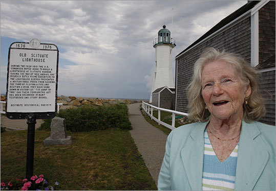 Duncan Bates Todd is great-great-granddaughter of Simeon Bates, first keeper of the lighthouse in 1811.