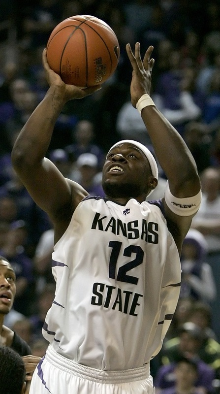 Kansas State forward Bill Walker shoots during the first half of a game against Winston-Salem this past season.