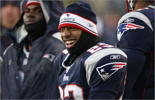 Willie Andrews on the sidelines during the AFC Championship game between the New England Patriots and San Diego Chargers in January.