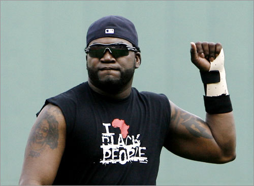 David Ortiz, DH Statistics through Saturday: Avg. HRs RBIs Runs SO .252 13 43 36 37 Ortiz, who has been on the disabled list since June 1 with a partially torn tendon sheath in his left wrist, was elected to start for the fourth consecutive year, receiving 3,554,209 votes. He was selected as the AL designated hitter in 2005, when he led all ML players with 4,138.141 votes. Ortiz is expected to miss this year's game due to the wrist injury.