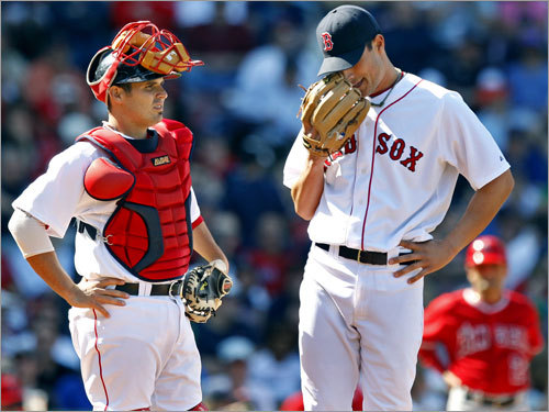 3. How will the pen shake out? With an ERA of 3.95 (18th-best in the majors) and 16 blown saves (the second most in the AL), the bullpen is one of the biggest question marks for the Red Sox. Hideki Okajima (12 of 17 inherited runners scored), and Mike Timlin (6.31 ERA) have not delivered, and Manny Delcarmen and Craig Hansen have had hiccups as well. The Sox will soon add Justin Masterson to the bullpen mix, but will they make a move to acquire another arm?