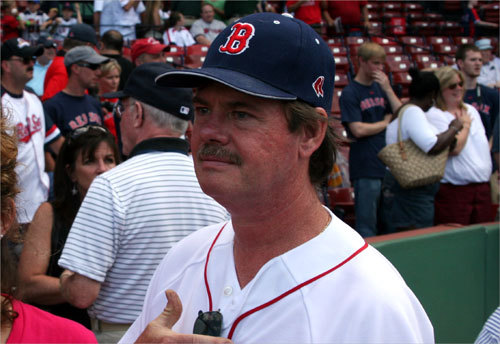Put Tewksbury's Brian Anderson in the 'jury is still out on Manny' camp. 'Maybe his knee is still bothering him,' Brian said after the news of Manny being out of the lineup came out. 'Or maybe it's a contract issue. He wants an extension. [Scott] Boras is his agent... I'd have to get it from Manny.'