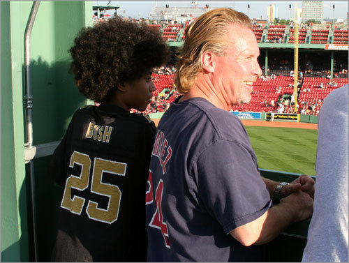 'Sounds like the same crap he [Manny] pulls every summer,' said Scott Roberts (right), a Yankee fan who grabbed a Manny Ramirez jersey on his way out the door on Friday, 'He's got all these aches and pains, then he pulls out of it and he's fine. Something bothers him emotionally and he does this. ...I don't think he'd fit in in New York. He's a perfect fit for Boston.'