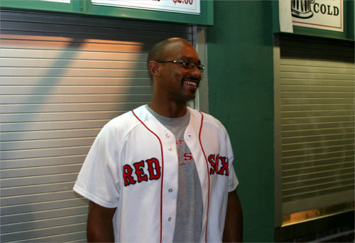 'If he says he's hurt, he's hurt,' said Jonathan Irving, from Norwood, who was wearing a Manny Ramirez jersey at Fenway on Friday. 'Am I happy? No. But it is what it is.'