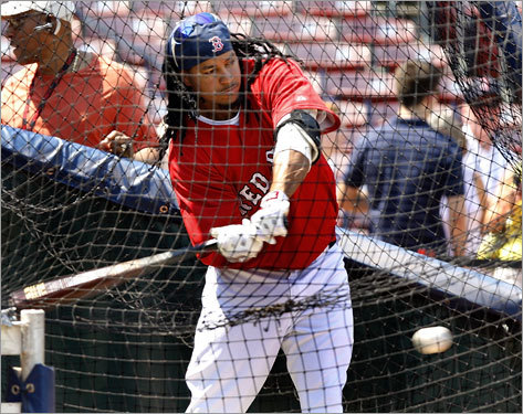 July 25-27, 2008 After telling ESPN Deportes that he would not block a trade if the Red Sox could find a trading partner, Manny expanded on that in his first comments since the situation with him and the team reached a head. 'What I said was if the Red Sox they think they could find a trade that's going to make the team better and both sides are going to be happy, I'm going to agree,' he said. 'But if they cannot find a trade... It's something simple. It's no big deal. At the end of the season, all they've got to do is call my agent and say, 'Hey, we're not going to pick Manny's option for '09, he's going to become a free agent.' And that's it. I go my way, and you guys go your way, something simple.'