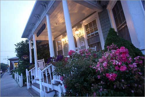 The Blue Dory Inn on Dodge Street is considered one of the more romantic lodging options on Block Island.