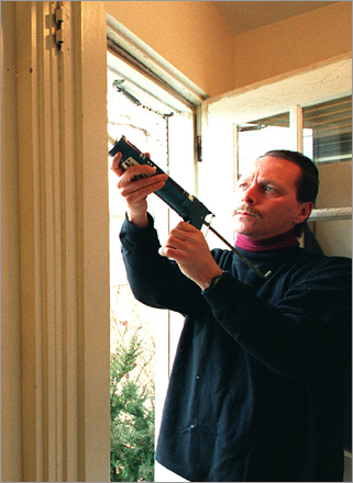 Weatherize your home Weatherizing your home is one of the best ways to stop a heating problem before it begins. In the early autumn homeowners should look for cracks and holes in their foundation, doorways and windows. To prevent the cold weather from getting inside their house in the first place, homeowners can apply weatherstripping or caulk to particularly drafty areas. Caulking and weatherstripping gaps in doorways and windows has been found to pay for itself in energy savings within a year.