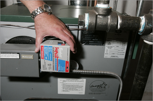 Upgrade your current heating system Those not looking to perform a major overhaul on their home should look into upgrading their current heating system. Mechanisms like a HeatManager and a hot water heating system fuel economizer can be installed to help curb fuel consumption by up to 10 percent.