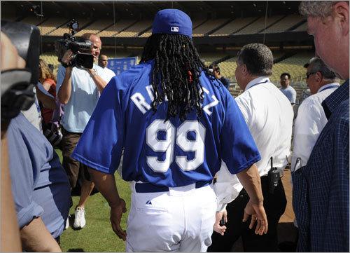 Ramirez will wear No. 99 with the Dodgers.