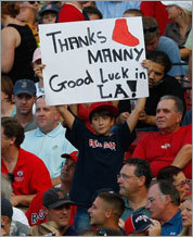 A fan in Boston.