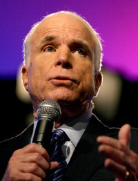McCain spoke to the National Urban League.