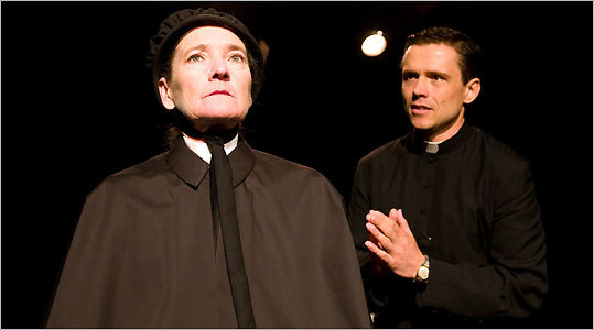 father flynns parables essay Aloysius doubts the deeds of father flynn, a priest who also coaches basketball and attends the spiritual needs of children and families in the school (kandra) she believes that father flynn has a questionable relationship with the first black student in the school called donald muller.