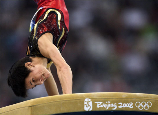 Oksana Chusovitina vaulted her way to an Olympic medal, for Germany, by way of Uzbekistan and the former Soviet Union.