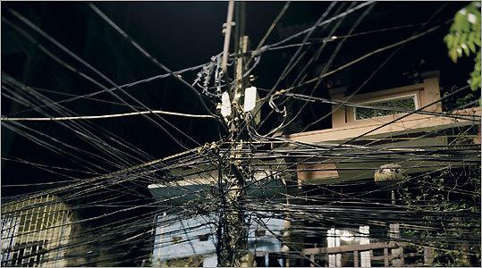 'Untitled (Telephone Wires) Hanoi, Vietnam'
