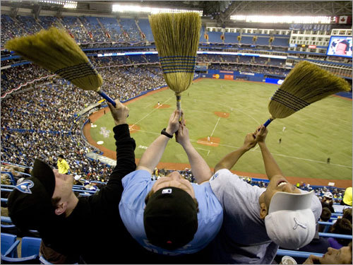 'Our friends from the North?' Hardly. The Blue Jays might be 11 1/2 games back in the AL East (and 7 games behind the Sox), but Toronto fans have seen their team beat up on the defending World Champs lately. The Sox have lost 10 of their last 12 against the Jays, including six straight at the Rogers Centre. Let's assess the damage.