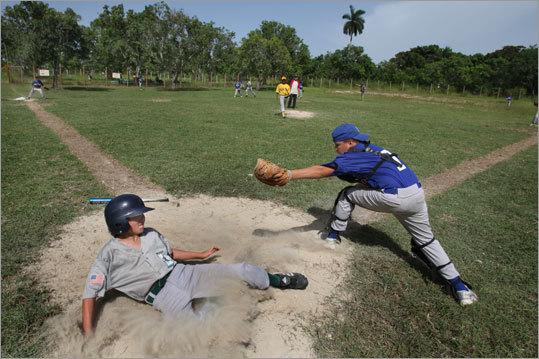 Rough blowjob catcher baseball