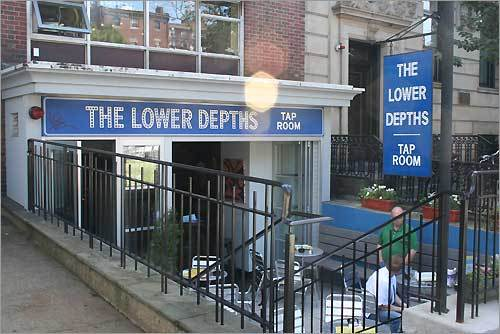 Lower Depths adds a new stop on the Kenmore bar scene, offering dozens of microbrews for the discerning palette.