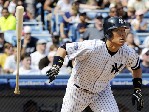 Yankees (74-64) 3d, AL East (11 GB) 3d, wild card (7 GB) Here's your dark-horse candidate. New York, bolstered by the recent return of Hideki Matsui (pictured), has 14 dates on the road and 10 games left at Yankee Stadium. The Yanks could climb back into it if they survive a 10-game test, beginning Friday, that includes the three division leaders. It's a long shot . . . but hey, stranger things have happened.