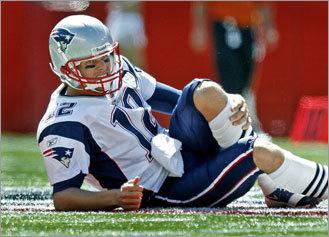 Brady hurt