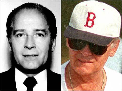 James 'Whitey' Bulger In 1975 as a member of the Winter Hill Gang, Bulger became an FBI informant. Bulger and Stephen Flemmi helped the FBI build a case against the Italian Mafia. Bulger and Flemmi built a drug-trafficking and racketeering empire in Southie. In the early '90s, the FBI dropped them as informants. In 1995, federal charges were handed down against Bulger and friends. Bulger was on the run for more than 16 years until his capture on June 22, 2011.