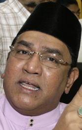 Ahmad Ismail is a ruling party district chief.