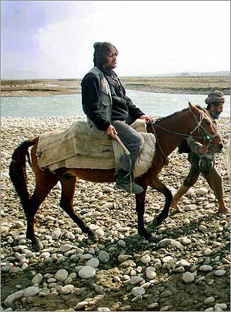 David Filipov rode horseback on the Kokcha River between Dashti-Qala and Koruk, in Afghanistan.
