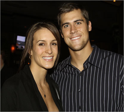 Cassel did not make a start while at USC, but he did leave there with his future wife, Lauren Killian (left), who captained the women's volleyball team to the 2002 national championship (Trojans QB Carson Palmer was best man at their wedding).