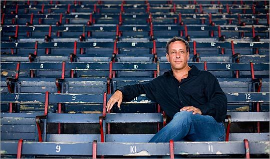 ACE Tickets CEO Jim Holzman, photographed at Fenway Park.