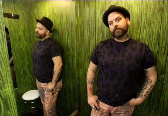 Among Shawn Cotter's favorites are the music of Santogold and the Last Shadow Puppets, and Kangol hats.