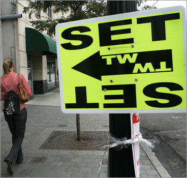 Chances are you've seen one of these 'film set' signs around greater Boston in the last couple of years. Recent tax credits for the film industry and Boston's unique charm are making the Bay State a hotbed for movie production. And it's not likely to wane anytime soon. There are plans to build a large movie studio in Plymouth , a developer is floating plans for another studio in Stoneham , and South Boston may even get it's own little bit of Hollywood with a sound stage . And with it all comes an increased need for workers to do everything from design costumes to operate cameras. Here are a few of the jobs associated with filmmaking in the Bay State.