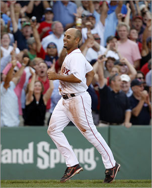 Alex Cora, INF Mazz's grade: C+ Cora clearly has lost a step (or two) in the field, but generally speaking, he still handles what he gets to. The fact that he has been employed as a defensive replacement is a greater reflection on Sean Casey than it is on Cora, whose contract is up at the end of this season. Once, Cora was an elite utility man. Hard to think that's true anymore.
