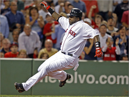 David Ortiz, DH Mazz's grade: C Before the wrist injury, before the departure of Manny Ramirez … he still wasn't having a very good year. Whether we have seen the best days of Big Papi is now open to debate, though there was considerable cause for optimism at season's end. In his final 10 games of the season, Ortiz had five homers and 12 RBI while slugging .744. You almost wonder if he's cranking it up.