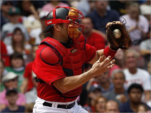 Jason Varitek, Catcher <!-- // define variables var date = new Date(); var current_time = date.getTime(); // write SCRIPT tag to browser document.writeln(' '); // -->