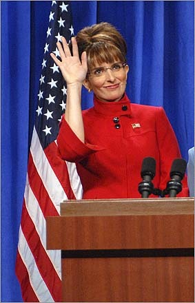 Tina Fery as Palin
