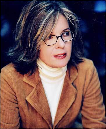 Diane Keaton's character in the film 'On Thin Ice' resembles Palin's polished working mother look.