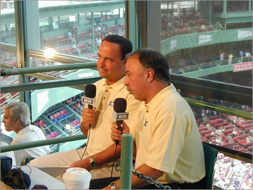 Bonus grade: Don Orsillo and Jerry Remy, NESN broadcasters <!-- // define variables var date = new Date(); var current_time = date.getTime(); // write SCRIPT tag to browser document.writeln(' '); // -->