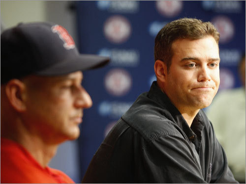 Theo Epstein, general manager Mazz's grade: A Over the winter, he might have traded for Johan Santana, but instead opted to generally keep his team intact. Sure, Clay Buchholz went poof, but Jon Lester blossomed and Justin Masterson bloomed. Along the way, Epstein swapped Manny Ramirez for Jason Bay and left the Sox none the worse for wear (yet) while adding both Mark Kotsay and Paul Byrd for nothing more than a few dollars. Sounds like the GM had a good year. Now can the Sox please finalize that contract extension?
