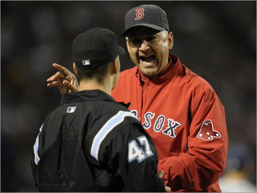 Terry Francona, manager Mazz's grade: A Here's something to consider: When the final out was recorded last night, Francona became the first Red Sox manager in more than 60 years to survive five full seasons -- and his three-year contract extension hasn't even begun yet. You may not like some of the manager's decisions (do you ever?) and you may not agree with his methods, but the Red Sox keep winning games, don't make excuses and rarely air their dirty laundry. Isn't that what managing is?