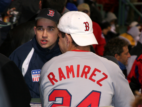 Some fans think Manny Ramirez will be back in Boston playing baseball later this month as a member of the Dodgers.