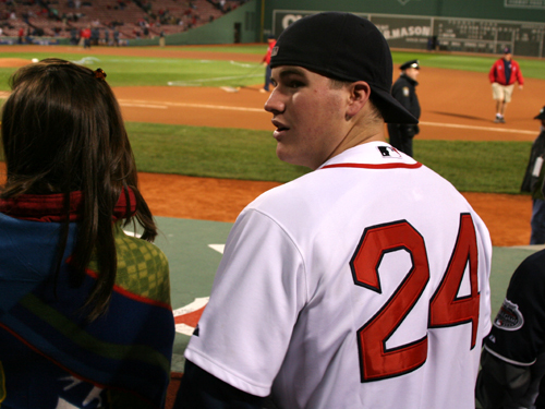 Kevin Decelle, from Stoughton, said the Red Sox can't replace Manny Ramirez, who he'll cheer for if the Dodgers' No. 99 returns to Fenway Park to face the Red Sox in the World Series.