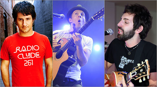 Matt Nathanson, Jason Mraz, and Josh Kelley