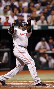 David Ortiz flied out in the first inning.
