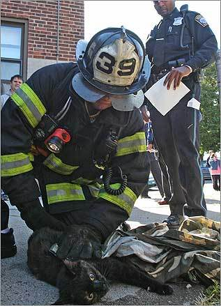 Lieutenant Tom McCann of the Boston Fire Department