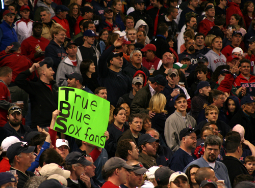 While it was another packed house at Fenway Park, it was one of Boston's quietest playoff crowds in recent memory.