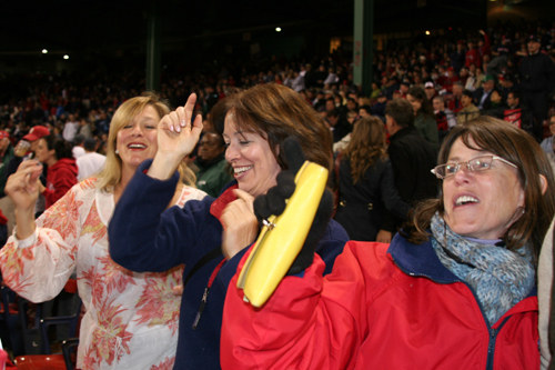Fenway fans always seem to step it up for the playing of Neil Diamond's 'Sweet Caroline,' no matter how the home team is playing.