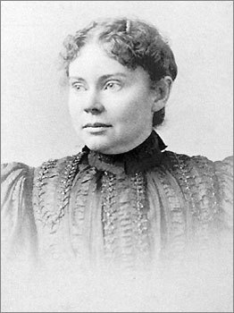 Lizzie Borden (b. 1860, d. 1927) Claim to fame: Accused of chopping up her parents. Buried: Oak Grove Cemetery, Fall River 'Lizzie Borden took an ax and gave her mother forty whacks. When she saw what she had done, she gave her father forty-one.' Though acquitted of the charges, Lizzie Borden's name is synonymous with one of the more frightful stories in Massachusetts lore, accused of killing her parents with an ax in Fall River in 1892. The Borden home, the alleged scene of the crime, still stands today as a bed and breakfast, once even bestowed with the honor of being the 'World's Creepiest Destination,' by The Travel Channel. Borden's grave reads, 'Lizbeth' since she changed her name after the trials.