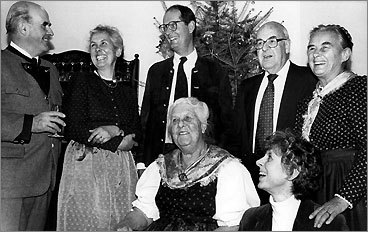 """Maria von Trapp (b. 1905, d. 1987) Claim to fame: Inspiration for """"The Sound of Music."""" Buried: Trapp Family Lodge, Stowe, Vt. Upon arriving in the United States, the von Trapps were probably happy to discover that the hills were still alive, in the Vermont town of Stowe, where they made their American home. Maria and her family's escape from Nazi Germany remains one of film's most endearing stories to this day. Today, the farm they called their home, atop a hill overlooking the mountains of northern Vermont, is home to the Trapp Family Lodge, a luxurious hotel serving Stowe and the Mad River Valley."""