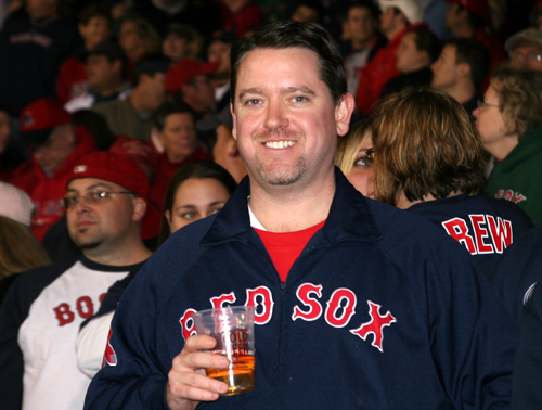 Buff's Pub bartender Dave Morrissey of West Roxbury maintained that the Red Sox still had a 'slight pulse' after taking a beating from the Rays in Game 4.